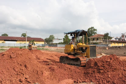 PREPARATION OF CONSTRUCTION SITE